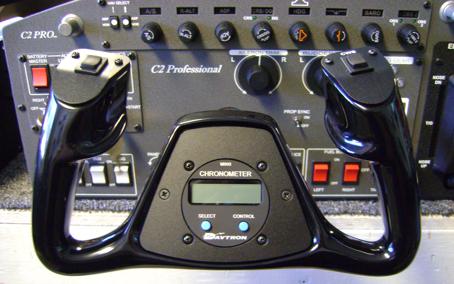 Cirrus Beech Yoke Precision Flight Controls