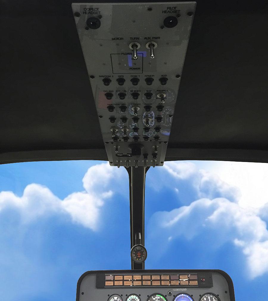 heli-overhead-panel