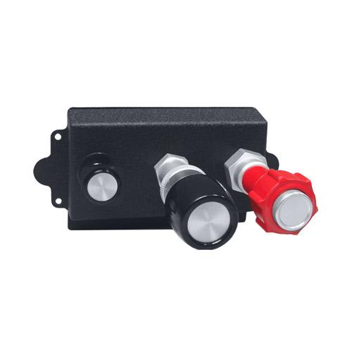 Single Engine Carb Heat/Throttle/Mixture Vernier Controls
