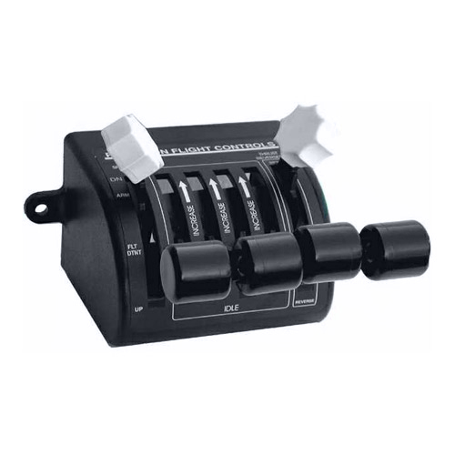 Four Engine Jet Spoilers/Throttles/Reversers