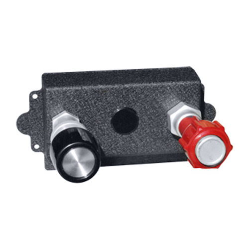 Single Engine Throttle/Mixture Vernier Controls