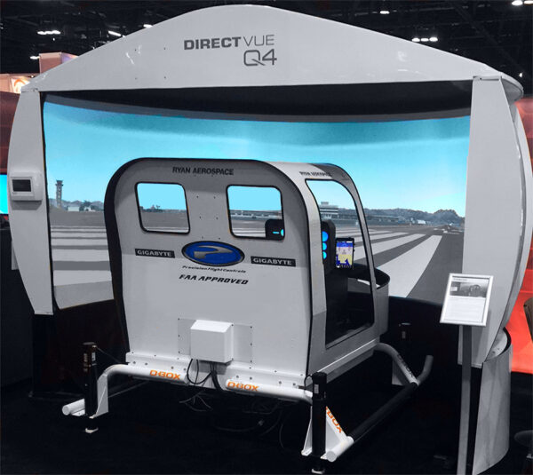 The new Heli-Sim line of helicopter simulators follows a long heritage of fixed-wing simulators from Precision Flight Controls.