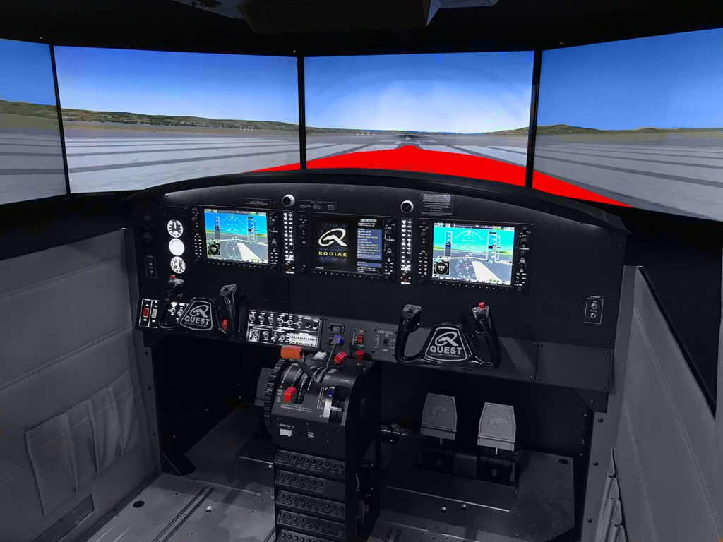 Cockpit Kodiak 100 MFD