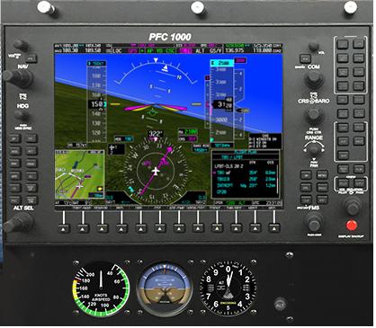 MFD G1000 PFD
