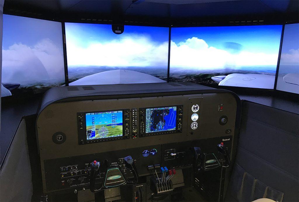 Baron Flight Deck