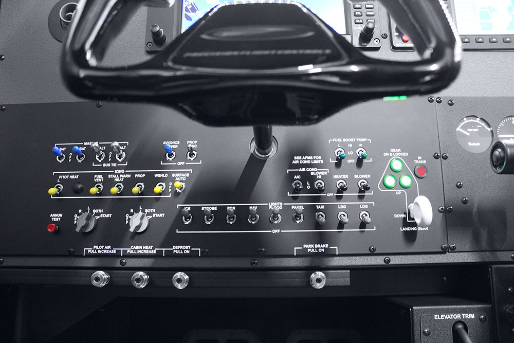 GTX MAX Baron G58 - Precision Flight Controls