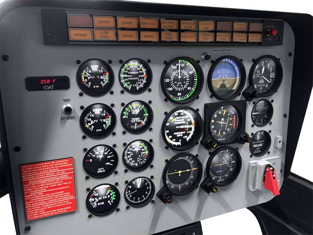 Heli-Sim - Bell 206/407GX - Precision Flight Controls